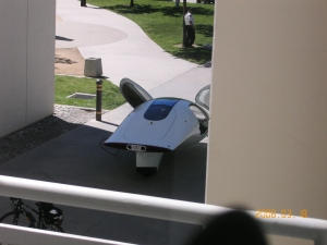 Aptera on Star Trek XI Set