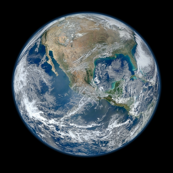 New Earth-observing satellite snaps 'blue marble' shot